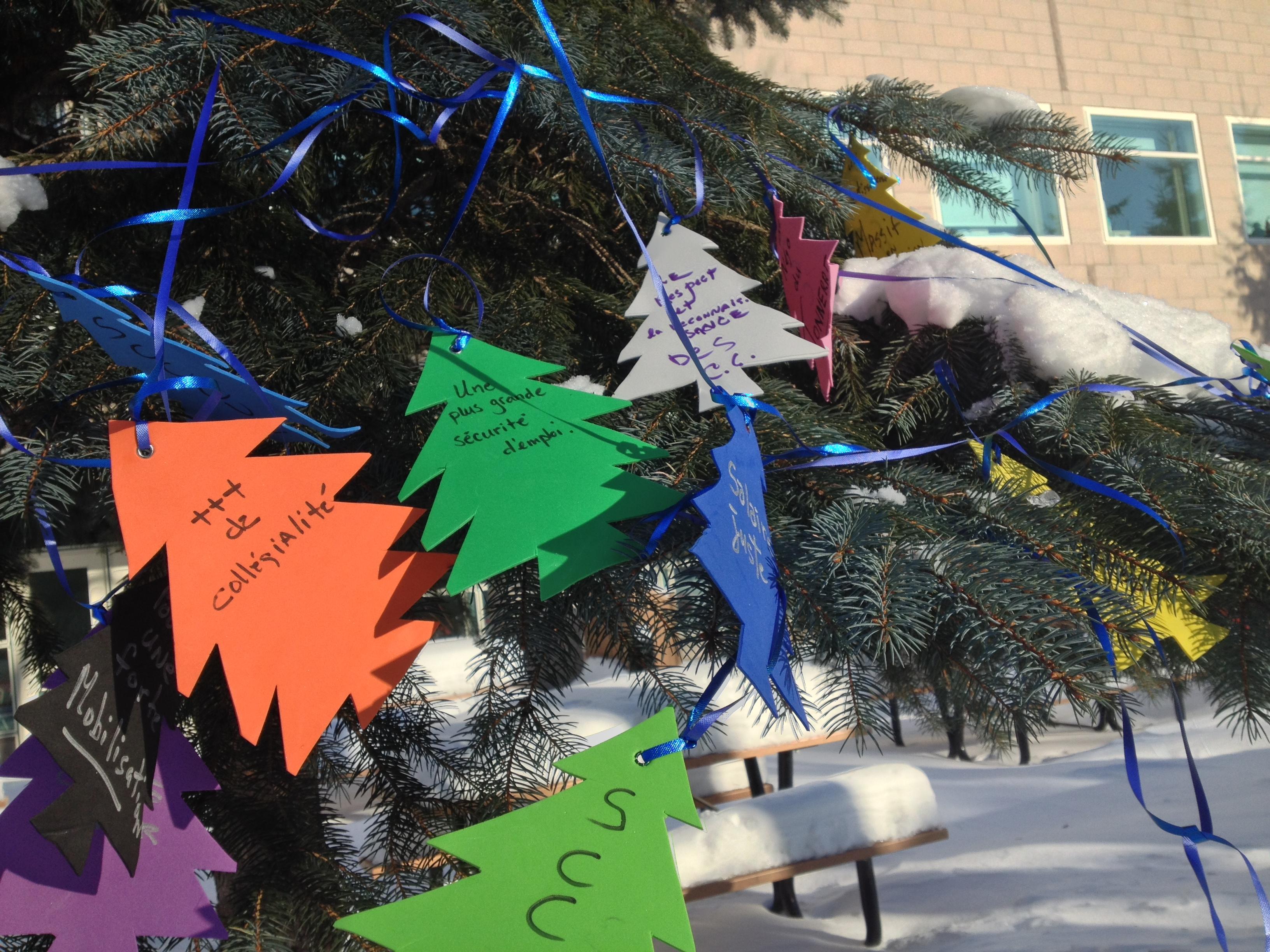 Les r v lations de l arbre souhaits des charg es et charg s de cours syndicat des charg es - L arbre a souhait ...